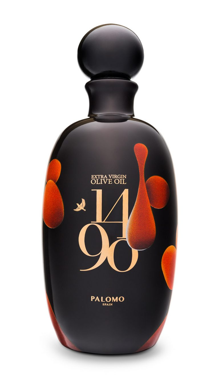 botella aceite 1490 by palomo spain